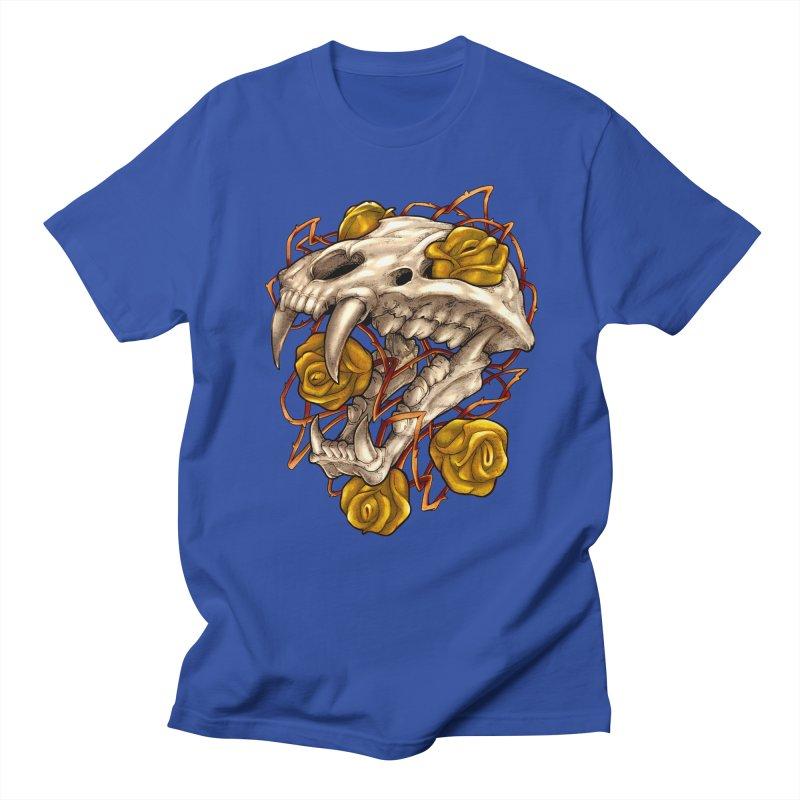 Golden Panther Men's Regular T-Shirt by villainmazk's Artist Shop