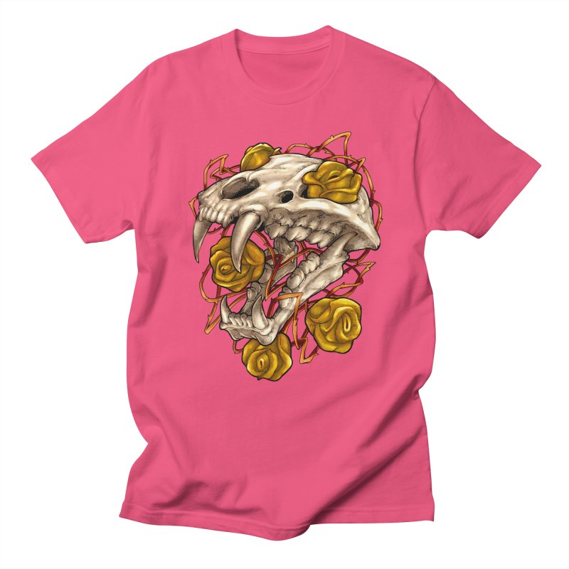Golden Panther Men's Regular T-Shirt by villainmazk's Artist Shop