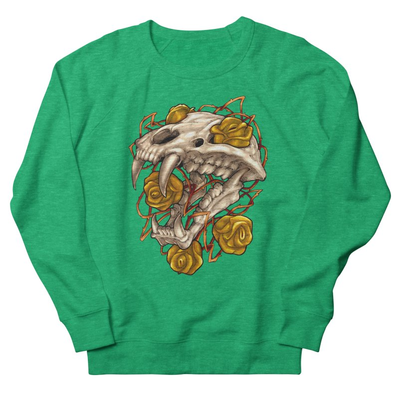Golden Panther Women's Sweatshirt by villainmazk's Artist Shop