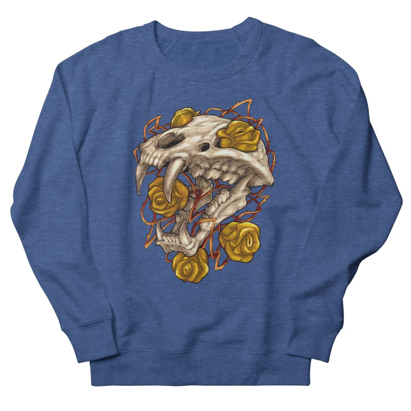 Golden Panther Men's French Terry Sweatshirt by villainmazk's Artist Shop