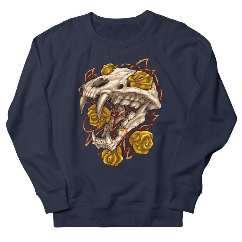 Golden Panther Men's French Terry Sweatshirt by villainmazk's Artist Shop