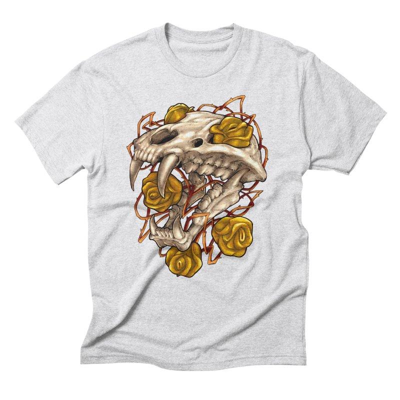 Golden Panther Men's Triblend T-Shirt by villainmazk's Artist Shop