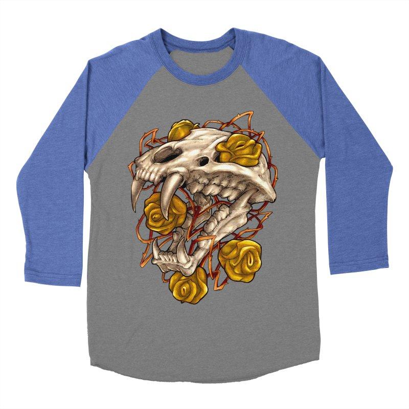 Golden Panther Women's Baseball Triblend Longsleeve T-Shirt by villainmazk's Artist Shop
