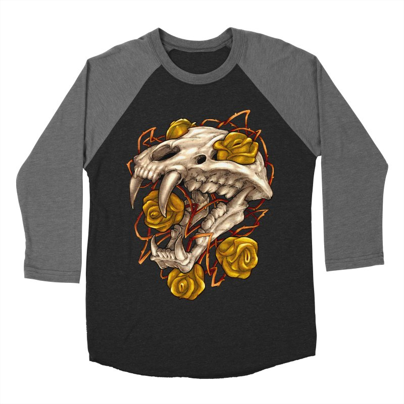 Golden Panther Women's Baseball Triblend Longsleeve T-Shirt by villainmazk's Artist Shop