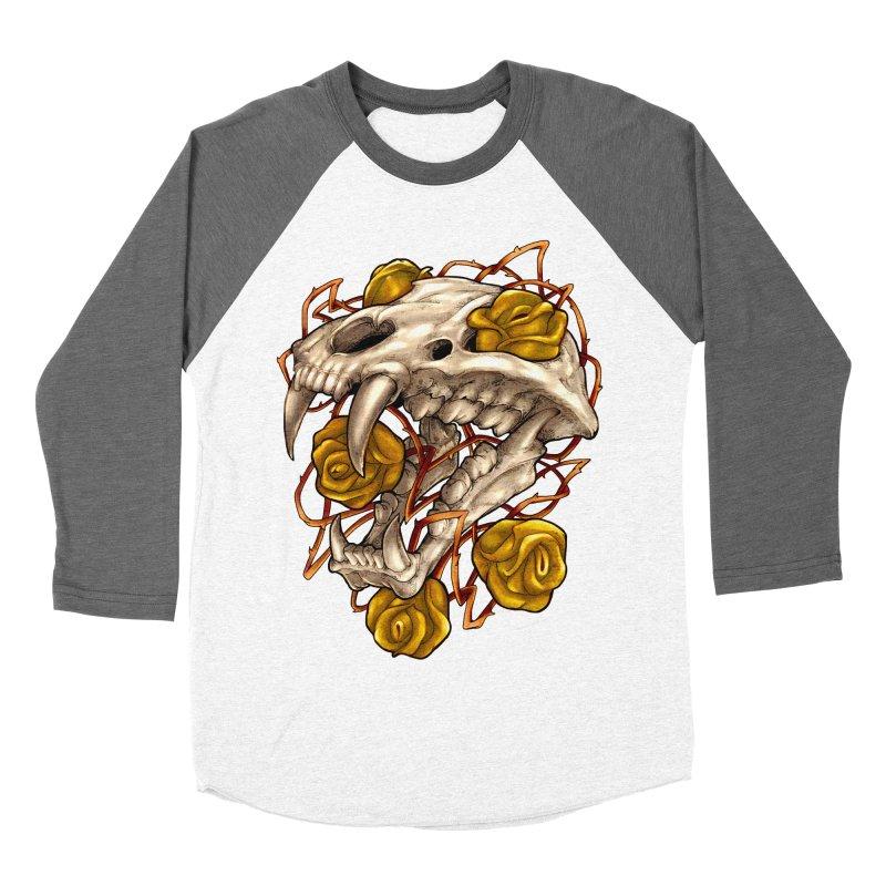 Golden Panther Men's Baseball Triblend Longsleeve T-Shirt by villainmazk's Artist Shop