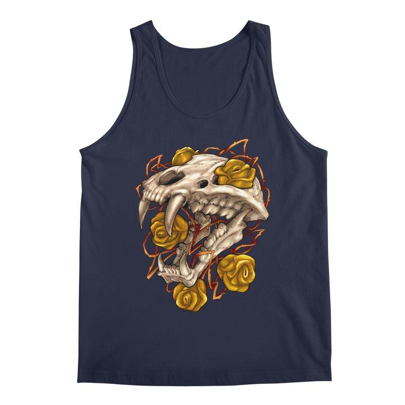 Golden Panther Men's Regular Tank by villainmazk's Artist Shop