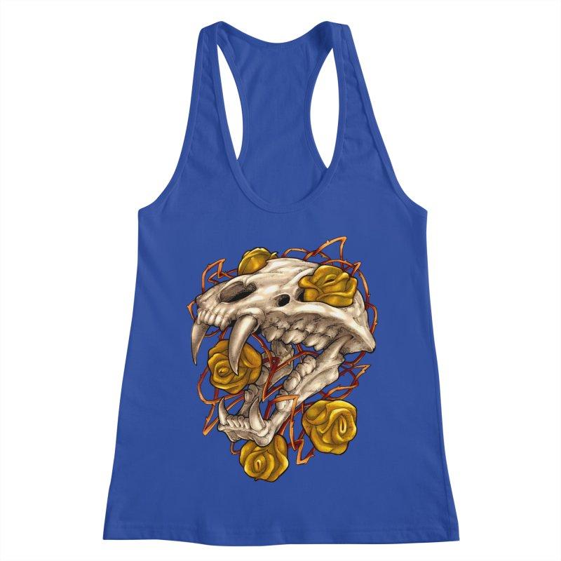 Golden Panther Women's Racerback Tank by villainmazk's Artist Shop