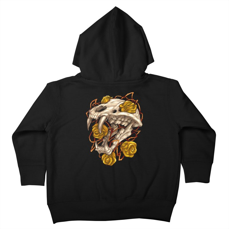 Golden Panther Kids Toddler Zip-Up Hoody by villainmazk's Artist Shop