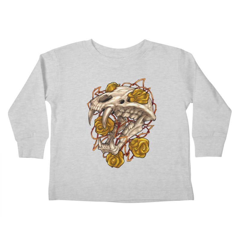 Golden Panther Kids Toddler Longsleeve T-Shirt by villainmazk's Artist Shop