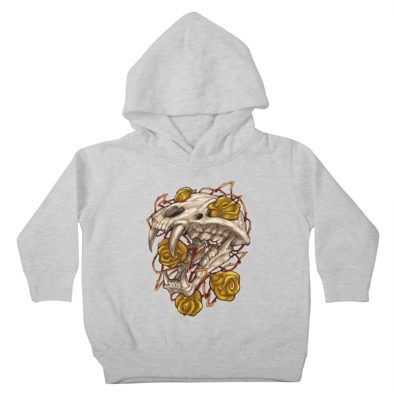 Golden Panther Kids Toddler Pullover Hoody by villainmazk's Artist Shop