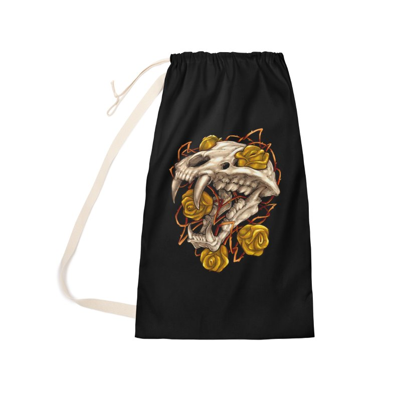 Golden Panther Accessories Laundry Bag Bag by villainmazk's Artist Shop