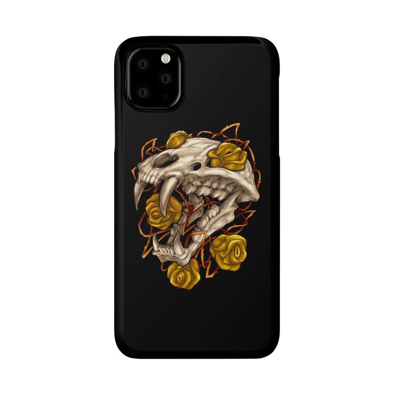 Golden Panther Accessories Phone Case by villainmazk's Artist Shop