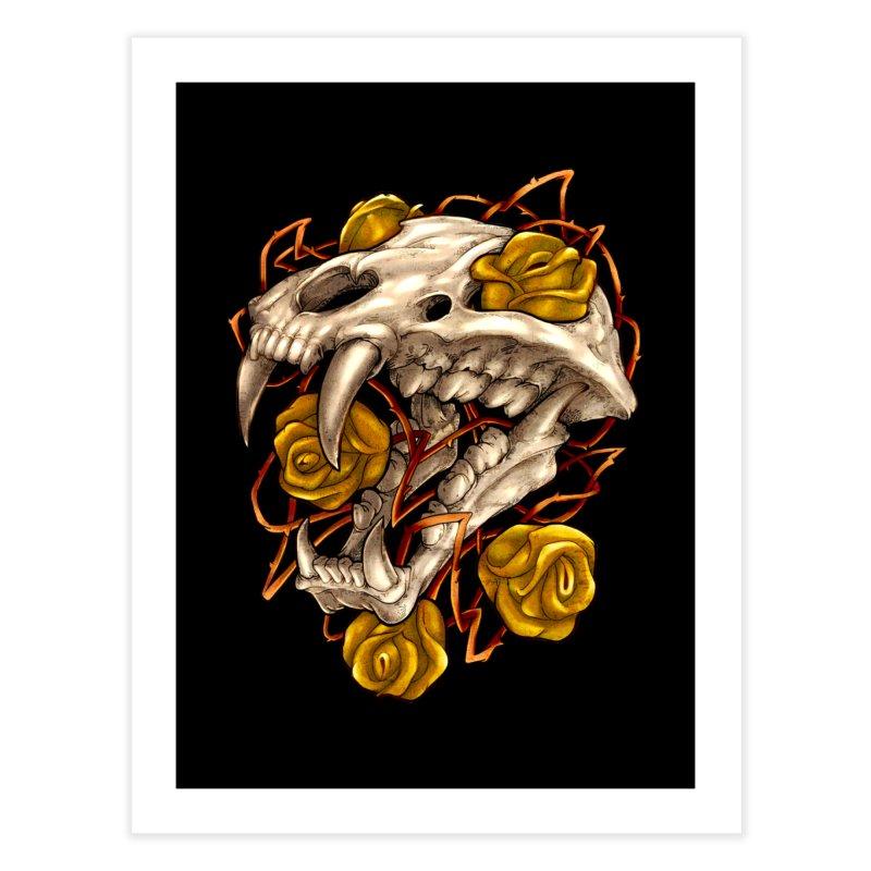 Golden Panther Home Fine Art Print by villainmazk's Artist Shop