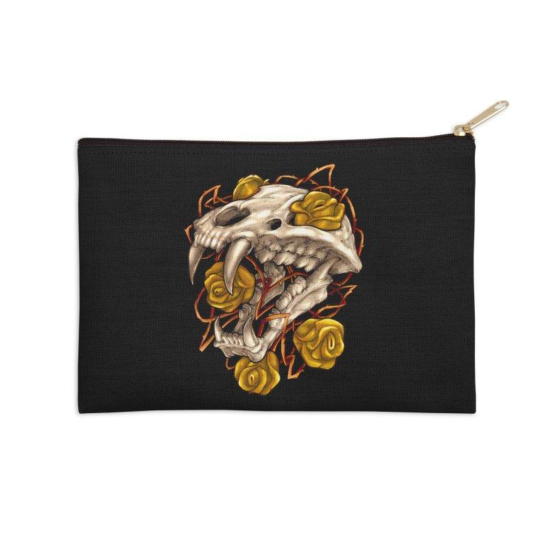 Golden Panther Accessories Zip Pouch by villainmazk's Artist Shop