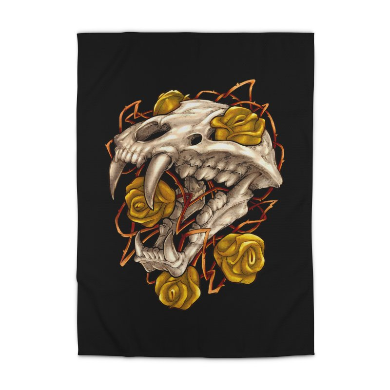 Golden Panther Home Rug by villainmazk's Artist Shop