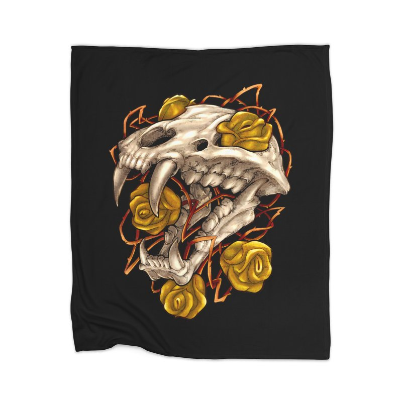 Golden Panther Home Blanket by villainmazk's Artist Shop