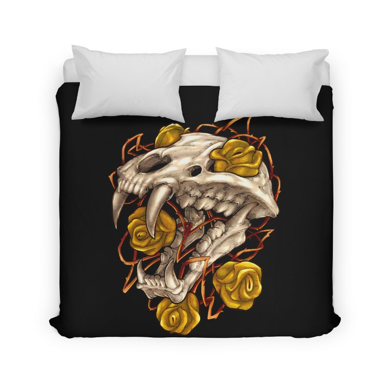Golden Panther Home Duvet by villainmazk's Artist Shop