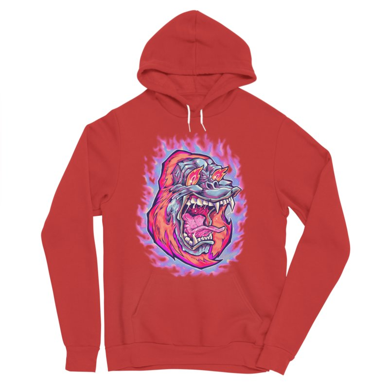 Burning Ape Women's Pullover Hoody by villainmazk's Artist Shop