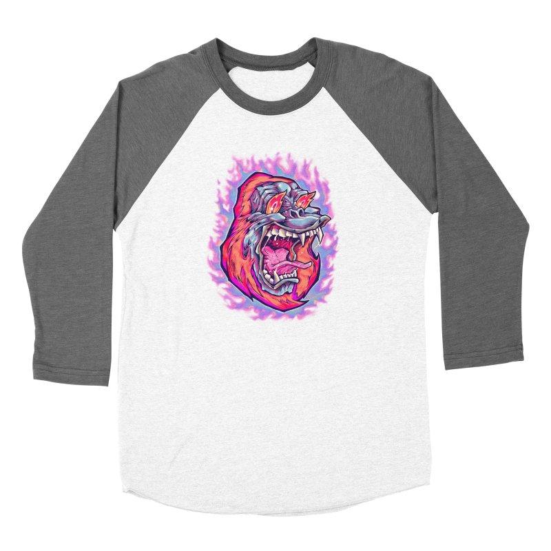 Burning Ape Women's Longsleeve T-Shirt by villainmazk's Artist Shop