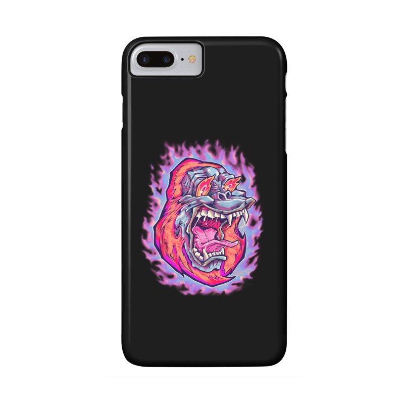 Burning Ape Accessories Phone Case by villainmazk's Artist Shop