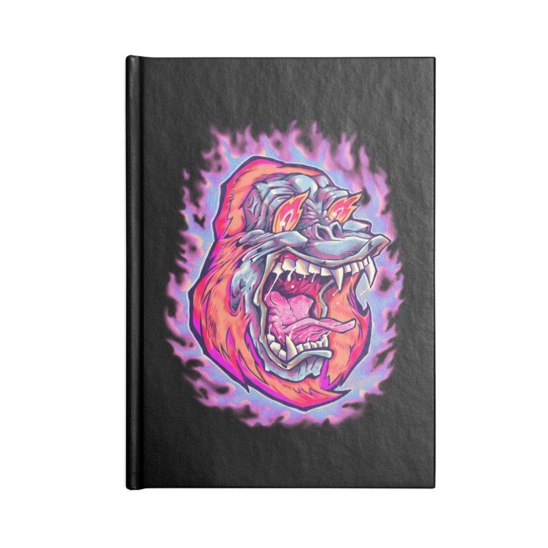 Burning Ape Accessories Notebook by villainmazk's Artist Shop