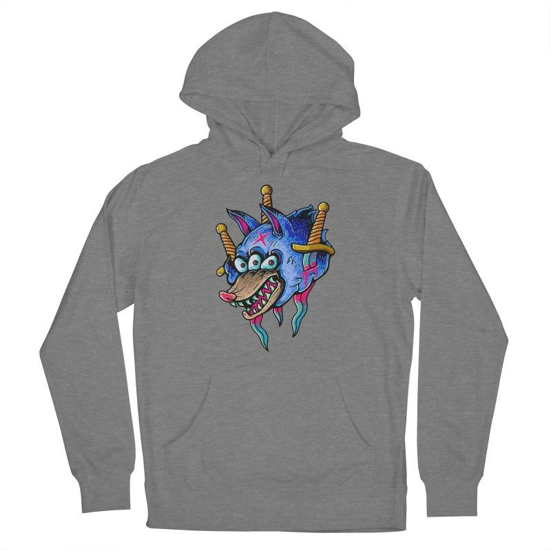 Evil Wolf Men's Pullover Hoody by villainmazk's Artist Shop