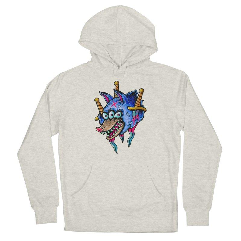 Evil Wolf Women's Pullover Hoody by villainmazk's Artist Shop
