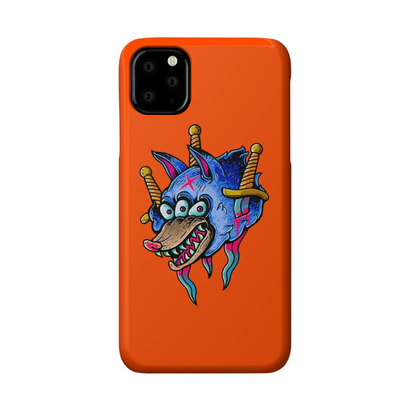 Evil Wolf Accessories Phone Case by villainmazk's Artist Shop