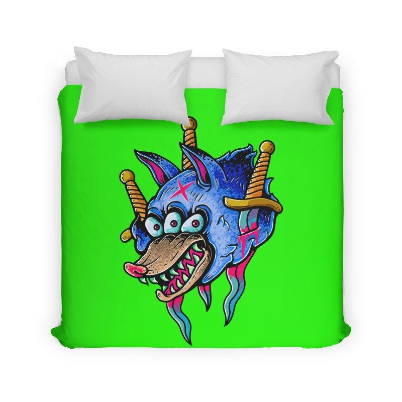 Evil Wolf Home Duvet by villainmazk's Artist Shop