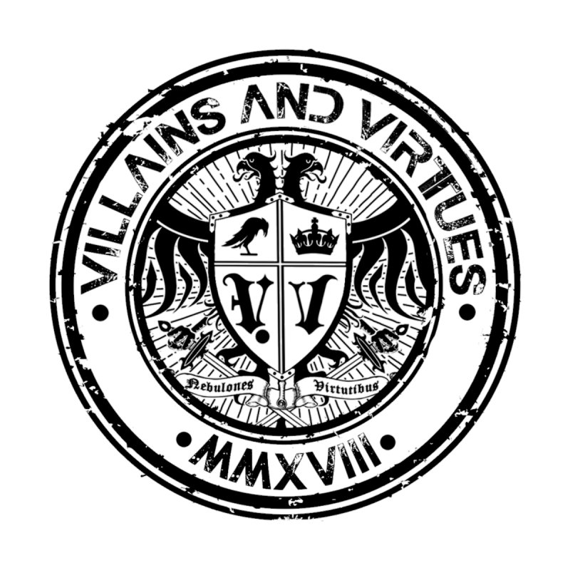 Great Seal of Villainy by Villains and Virtues Merch Store
