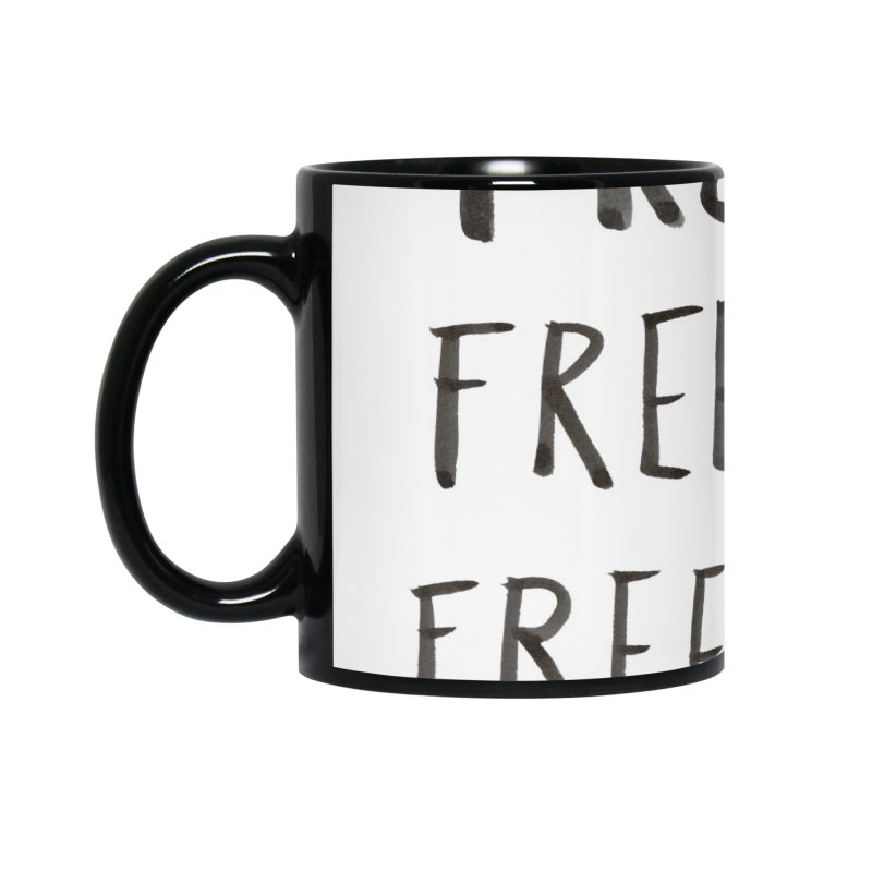 FREE WIFI, FREE WINONA Accessories Mug by villaraco's Artist Shop