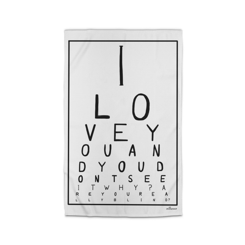 I love you and you dont see it Home Rug by villaraco's Artist Shop
