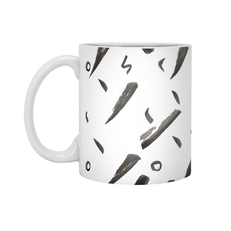 Brushes Pattern Accessories Mug by villaraco's Artist Shop