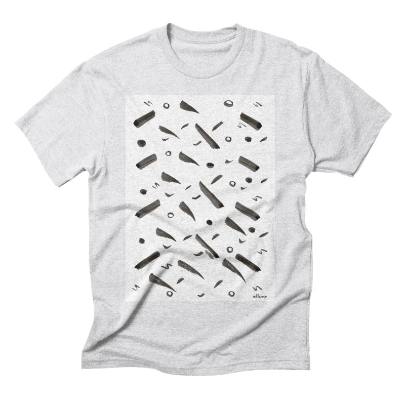 Brushes Pattern Men's Triblend T-Shirt by villaraco's Artist Shop