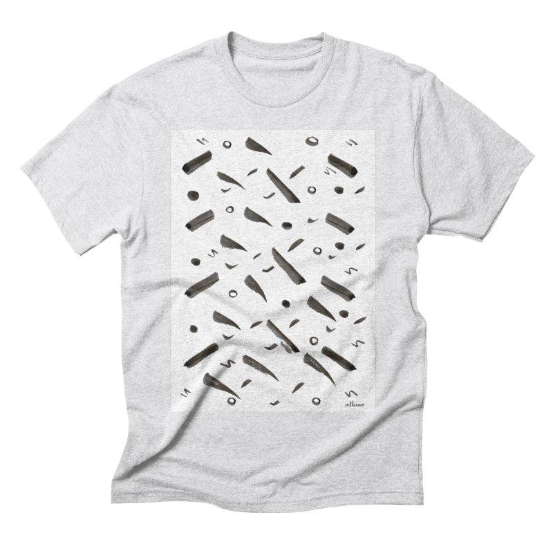 Brushes Pattern Men's Triblend T-shirt by villaraco's Artist Shop
