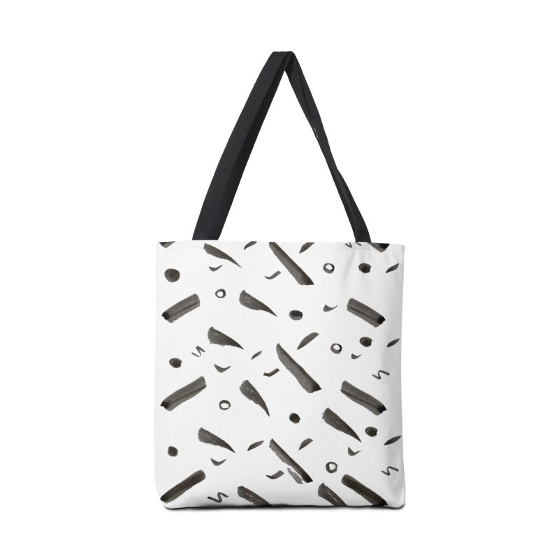 Brushes Pattern Accessories Tote Bag Bag by villaraco's Artist Shop
