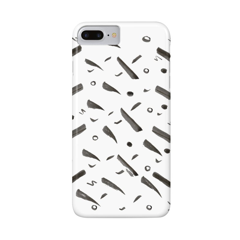 Brushes Pattern Accessories Phone Case by villaraco's Artist Shop