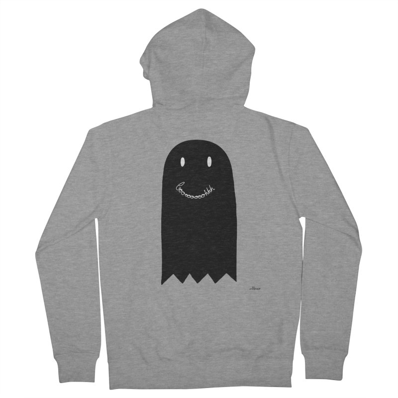 Boooh Women's Zip-Up Hoody by villaraco's Artist Shop