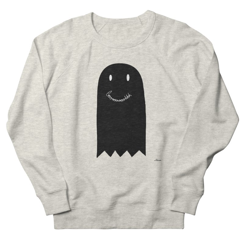 Boooh Men's Sweatshirt by villaraco's Artist Shop