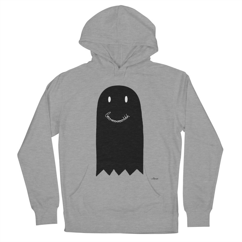 Boooh Men's French Terry Pullover Hoody by villaraco's Artist Shop