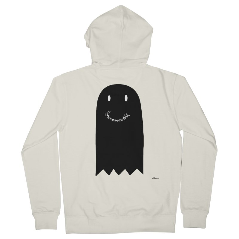 Boooh Men's Zip-Up Hoody by villaraco's Artist Shop