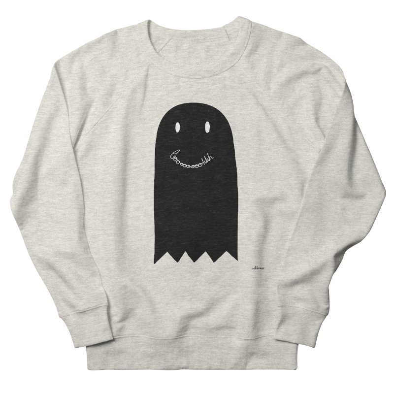Boooh Women's French Terry Sweatshirt by villaraco's Artist Shop