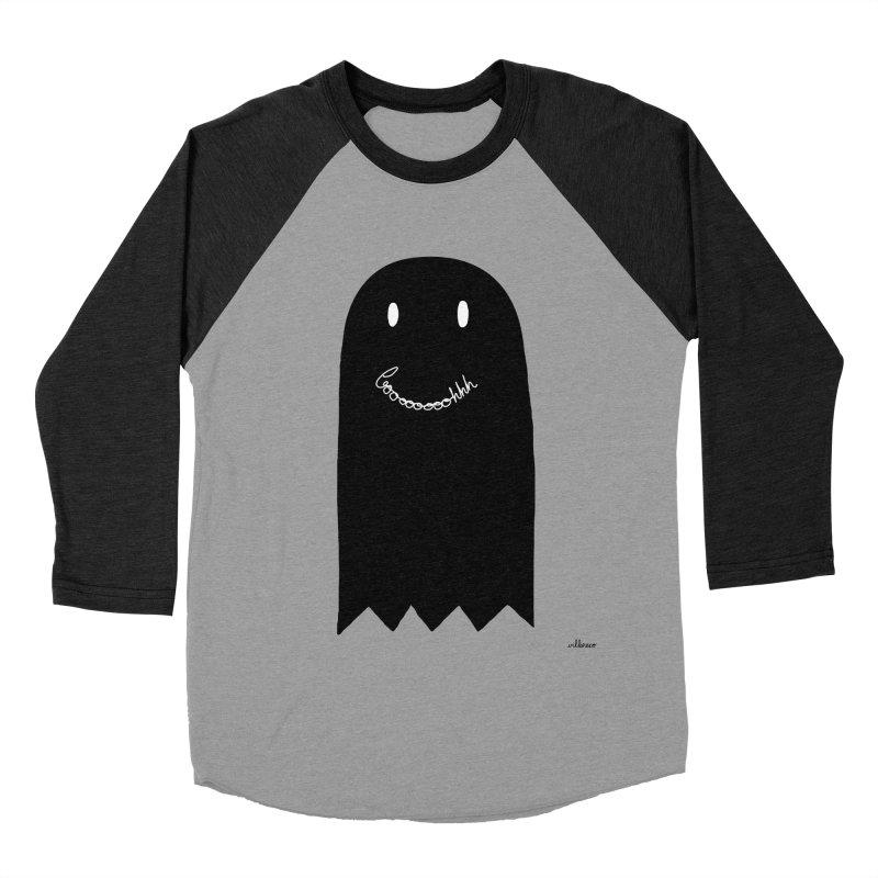 Boooh Men's Baseball Triblend Longsleeve T-Shirt by villaraco's Artist Shop