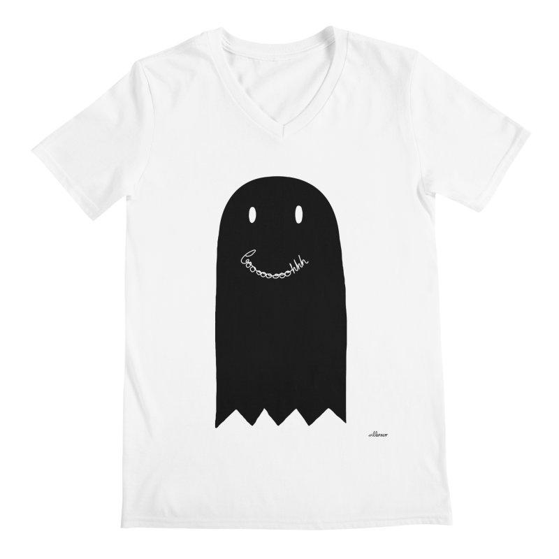 Boooh Men's Regular V-Neck by villaraco's Artist Shop