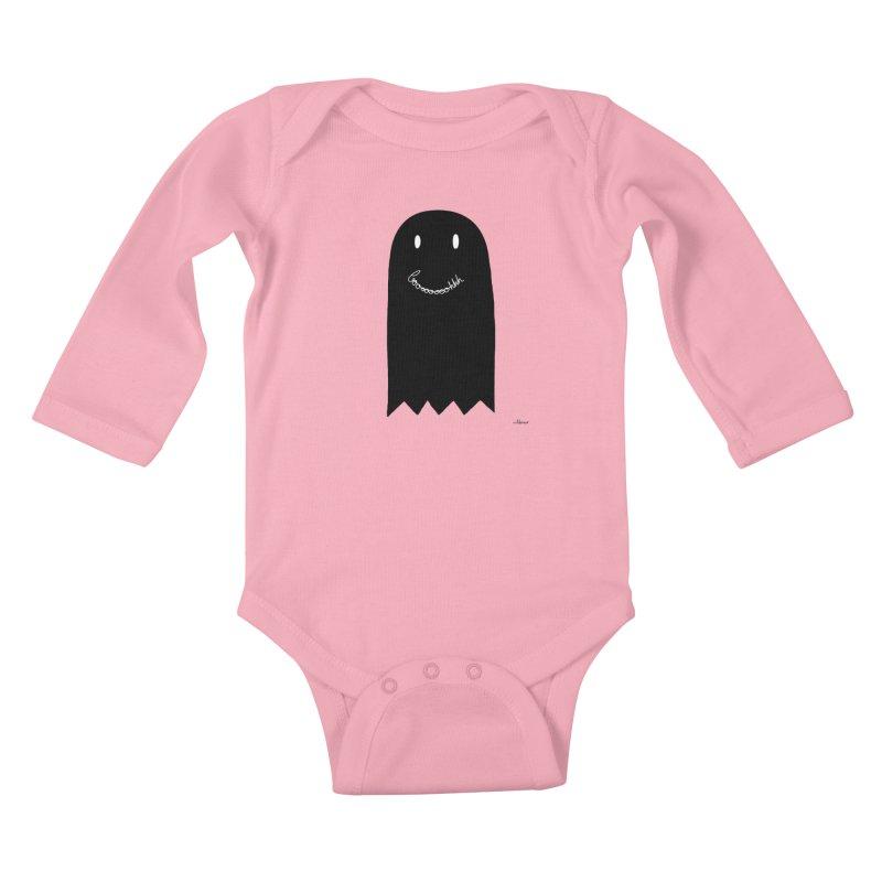 Boooh Kids Baby Longsleeve Bodysuit by villaraco's Artist Shop