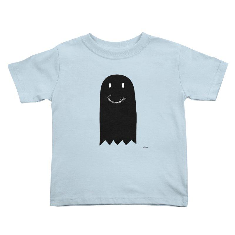 Boooh Kids Toddler T-Shirt by villaraco's Artist Shop