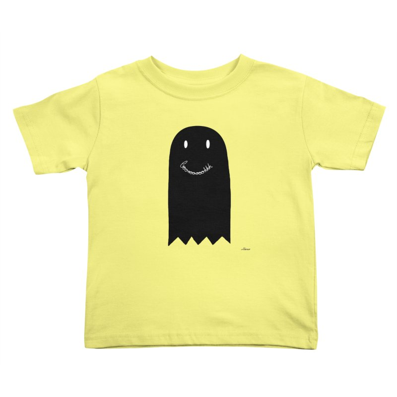 Boooh Kids Toddler T-Shirt by villaraco's Artist Shop