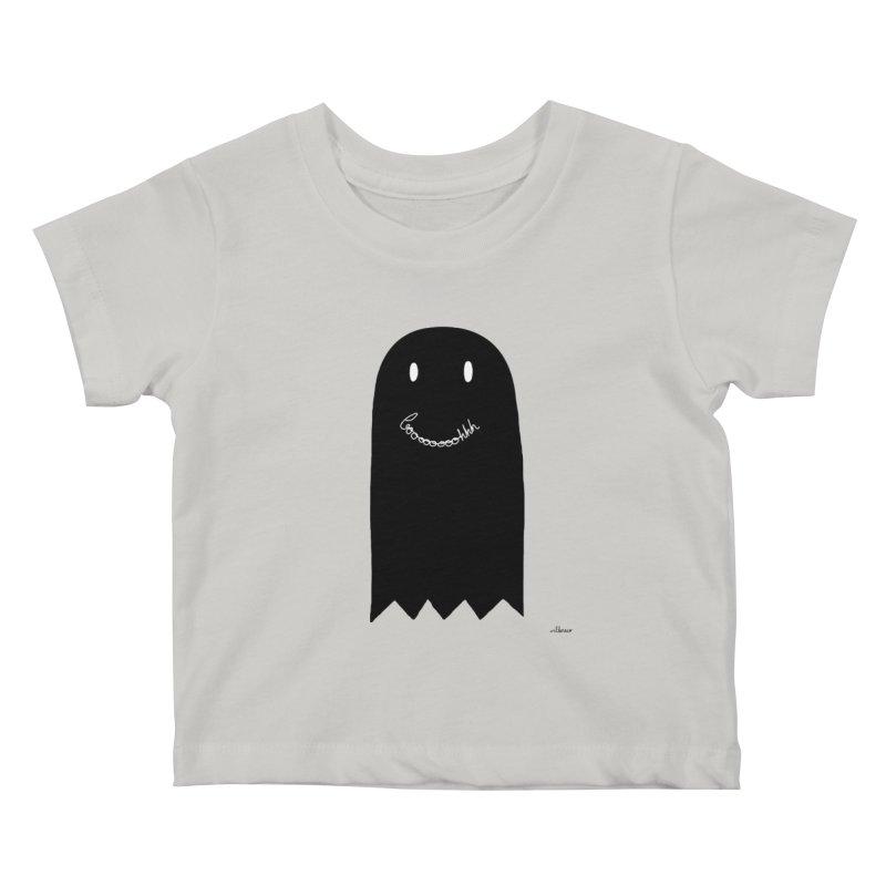 Boooh Kids Baby T-Shirt by villaraco's Artist Shop