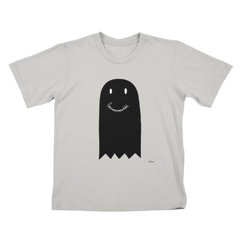 Boooh Kids T-shirt by villaraco's Artist Shop