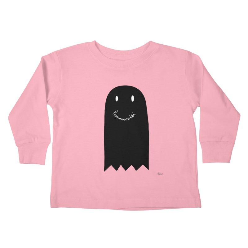 Boooh Kids Toddler Longsleeve T-Shirt by villaraco's Artist Shop